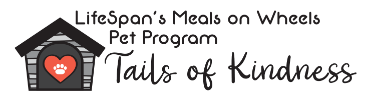 LifeSpan's Meals on Wheels Pet Program Tails of Kindness